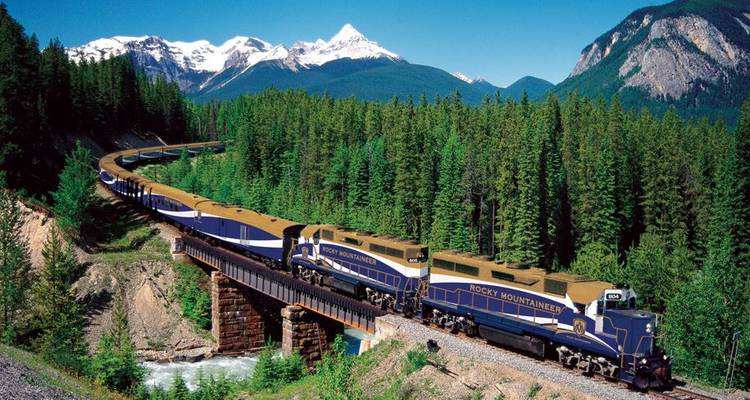 Great Resorts of the Canadian Rockies with the Rocky Mountaineer 2018 - Globus