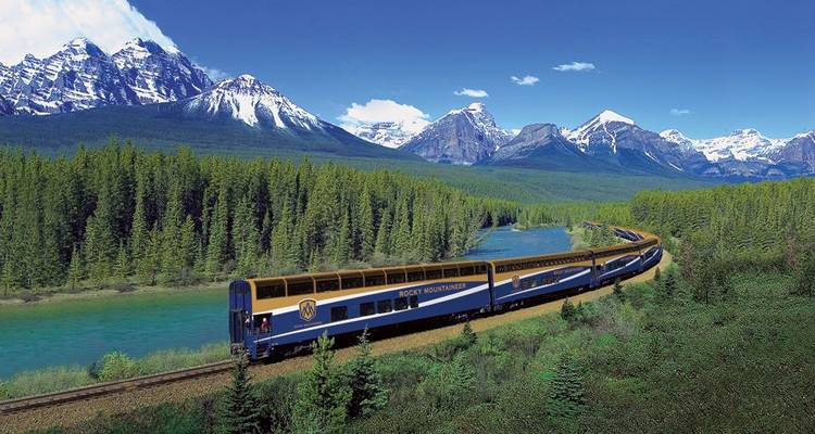 Majestic Rockies with the Rocky Mountaineer - Globus