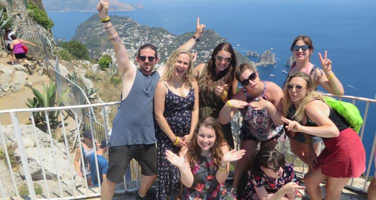 Amalfi Coast Tour From Rome For 18 -39's - Italy on a Budget Tours