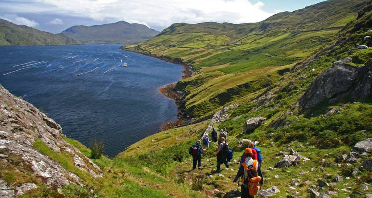 Explorer Series Burren, Aran & Connemara 8 Day Guided Walk - Ireland Walk Hike Bike
