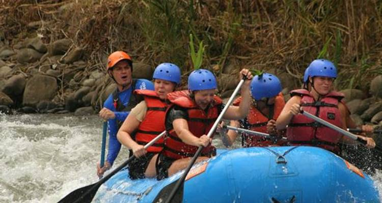 River white water Rafting in Costa Rica - Marvelus Travel