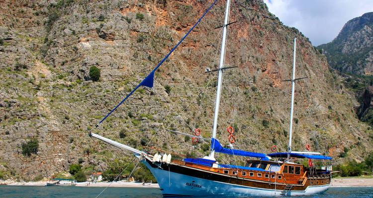 Olympos to Fethiye 4 day/3 night cruise - Alaturka Turkey – Tours & Blue Cruises