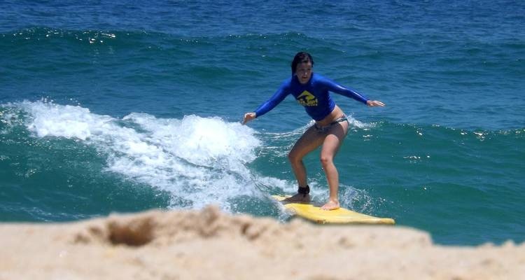 Surf Lessons - Local 55 travels