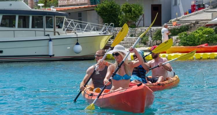 Croatia family multi activity holiday package - Sokol-Korcula Adventures