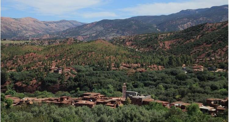 Private 2 Days Imlil to Ouirgane - Trek in Morocco