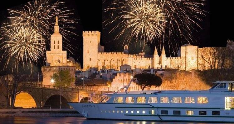 New year in Provence - CroisiEurope River Cruises