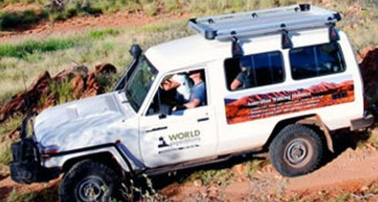Larapinta Trail Transfers - World Expeditions