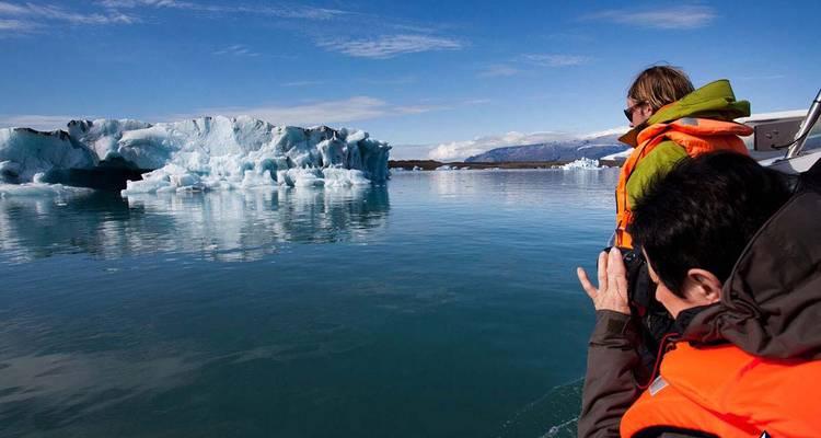 2 Day - South Coast, Ice Cave, Skaftafell & Jokulsarlon Ice Lagoon - Arctic Adventures