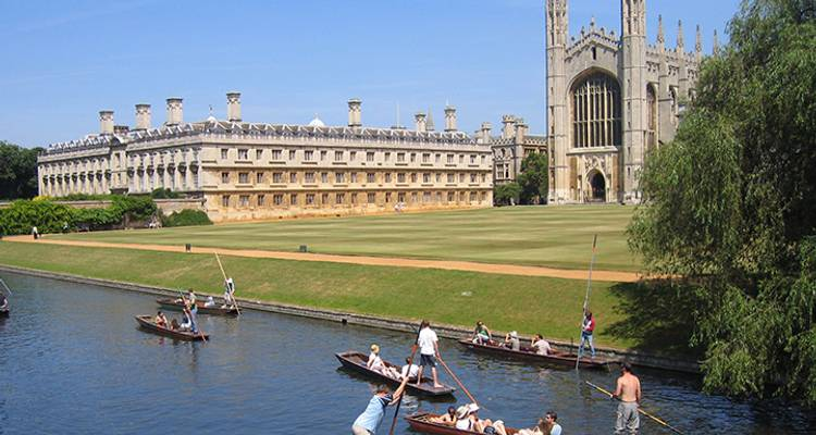 Cambridge City & University - From London - UK Study Tours
