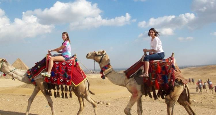 Pyramids & The Nile by Air - Memphis Tours Egypt
