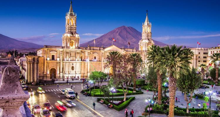 Grand Tour of South America with Brazil's Amazon, Arequipa & Colca Canyon - Monograms