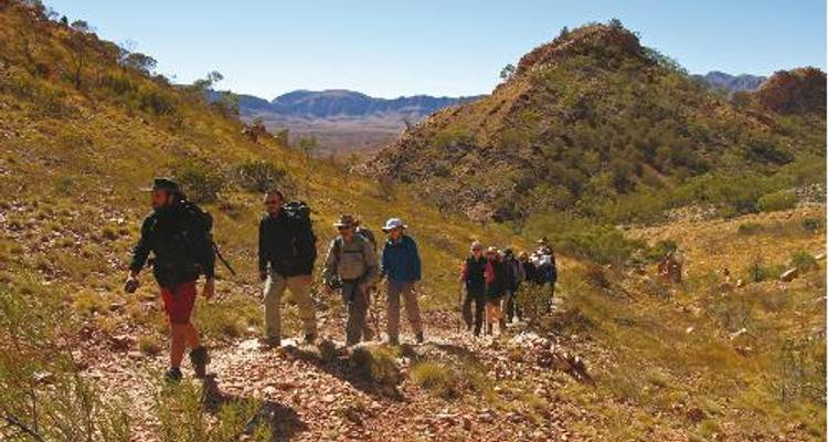 Larapinta 6 Day Self Guided Trek - World Expeditions