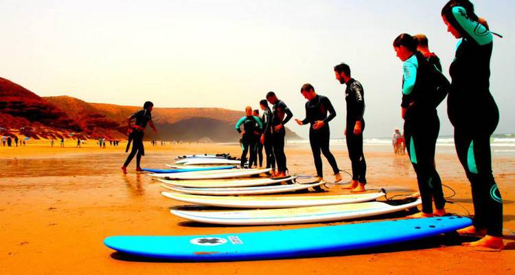 Surfing on Morocco's Atlantic Coast - Rug and Rock Adventures