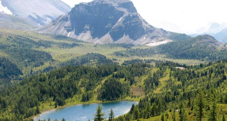 Mountains of Western Canada on Foot - Great Canadian Trails