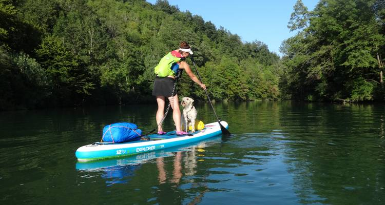 Slovenia SUP, Hike and Track Brown Bears - Bananaway