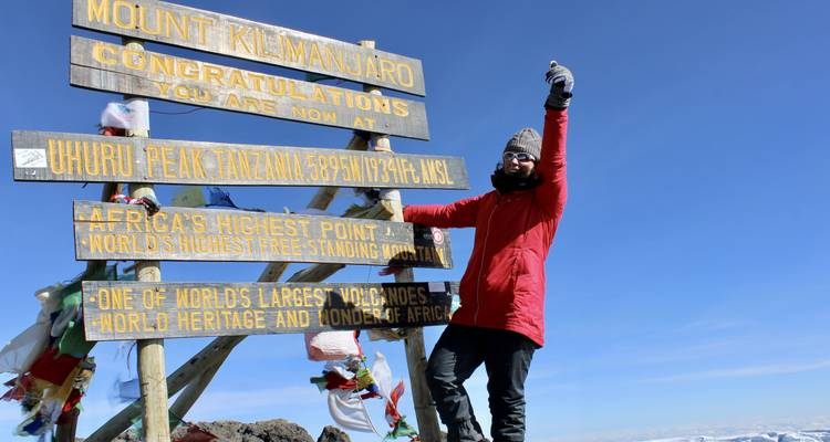 Kilimanjaro Summit on the Marangu Route - OneSeed Expeditions