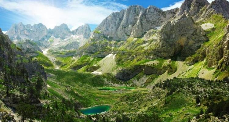 Trails of Albanian Alps - The Natural Adventure Company