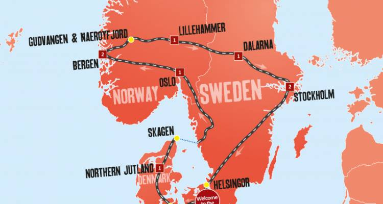 Scandinavian Escape - 12 Days - Expat Explore Travel