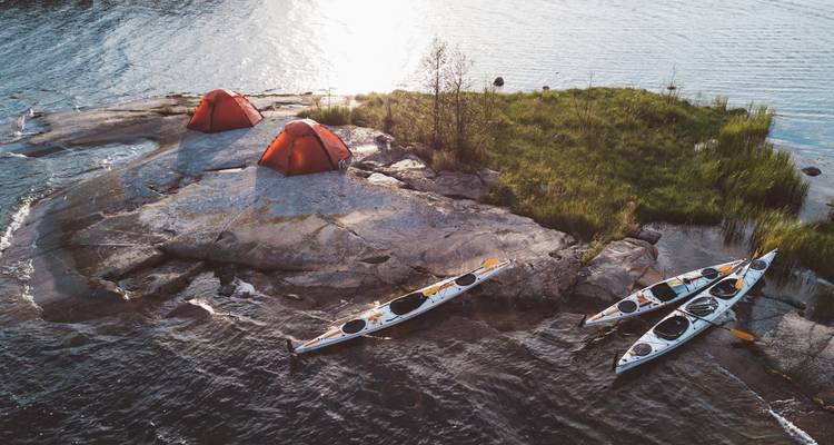 5-day Kayak & Wild Camp the Archipelago - self-guided - Do the North