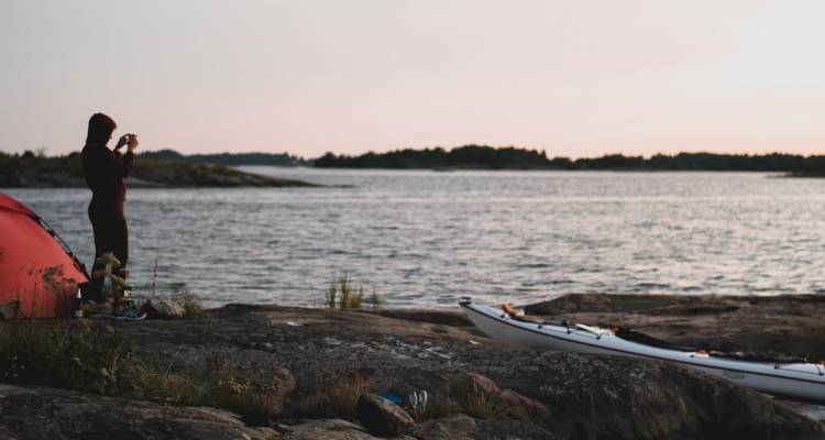 Self-guided Kayaking & Camping - Sweden 7 days! - Do the North