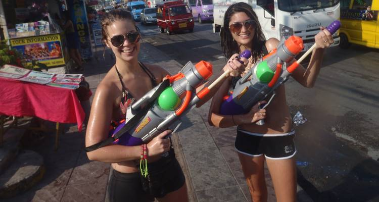 Songkran Packages (4 Nights) - Thirsty Swagman