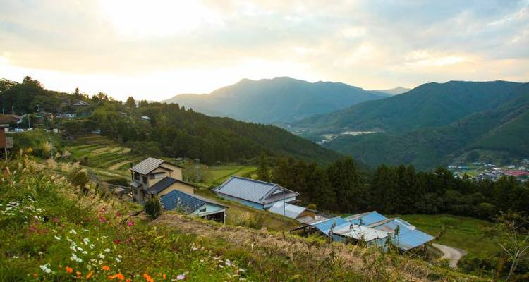 Kumano Kodo self-guided walking 4 days - Oku Japan