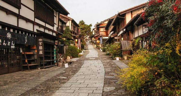 Nakasendo self-guided walking 3 days - Oku Japan