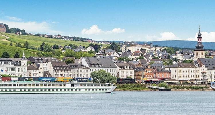 Biking along the Rhine (from Basel to Amsterdam) - CroisiEurope River Cruises