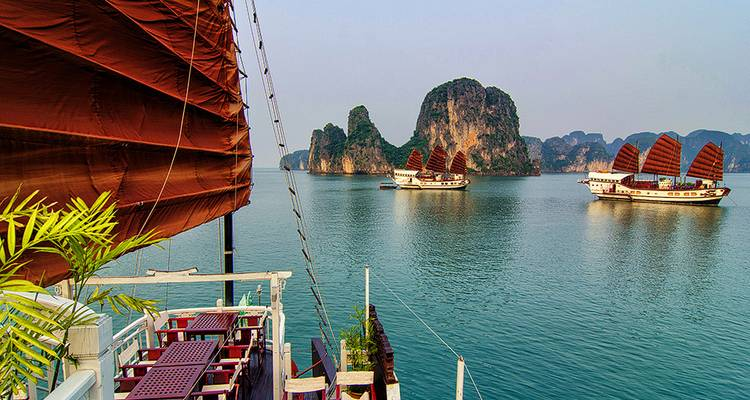 Hanoi - Halong Bay Cruise overnight on Boat Short Trip for 5 Days - Legend Travel Group