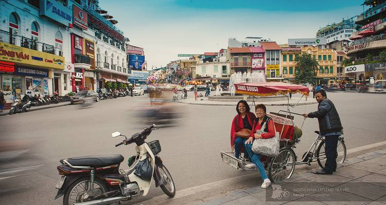 Endless Moments with Charming & Peaceful Hanoi full day - Legend Travel Group