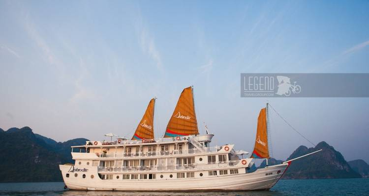 Aphrodite Cruises Halong Bay 2 Days 1 Night - Legend Travel Group