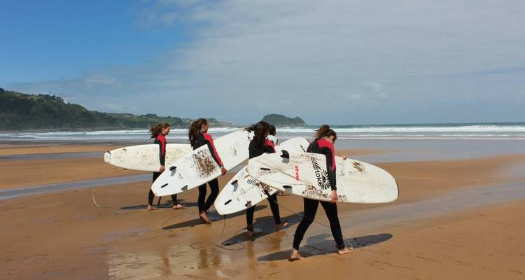 San Sebastian Surf Camp (7 nights) - Stoke Travel