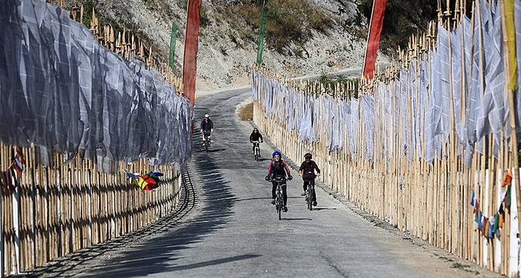 Cycling in Bhutan - Exodus Travels