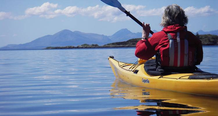 Sea Kayaking - Introduction Course - Wilderness Scotland