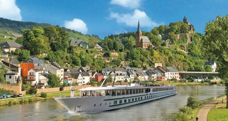 Four Fascinating Rivers - CroisiEurope River Cruises