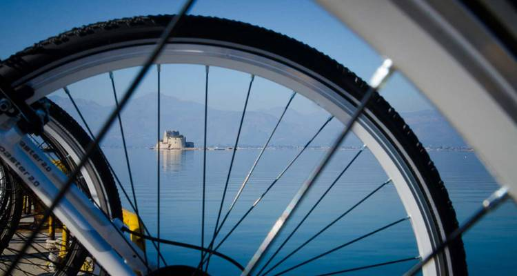 Peloponnese trekking bike tour - Travel'n'Cycle
