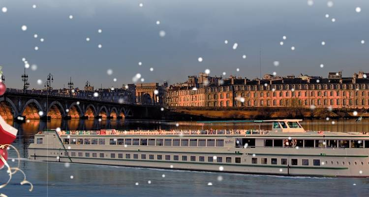 Christmas in the Bordeaux region on the Gironde and Dordogne Rivers - CroisiEurope River Cruises