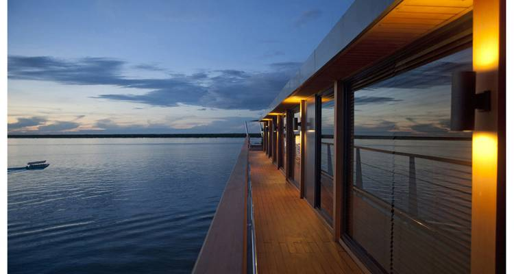 AQUA MEKONG - Expedition Cruise - 7NT - Upriver - High Water Season (Ho Chi Minh to Siem Reap) Mid-August to November - Aqua Expeditions
