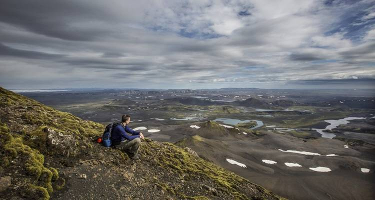 Volcanic Trails 1: Explorer's Peak to the Canyon of Fire - Icelandic Mountain Guides