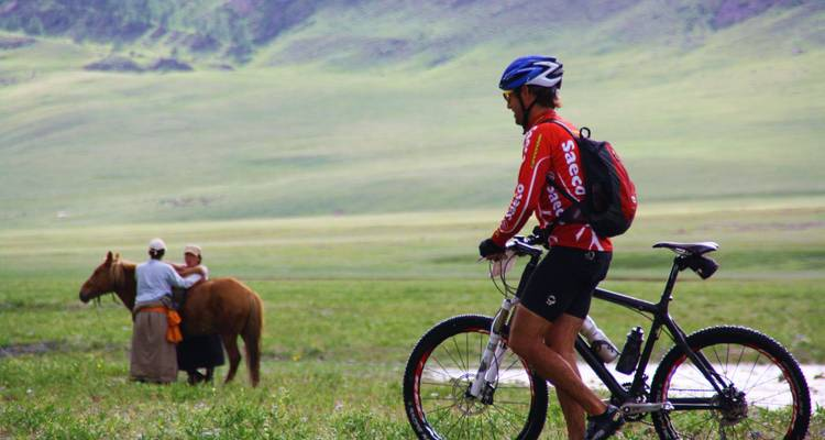 Family Mt. Biking in the Mongolian Steppe - Rove Travel