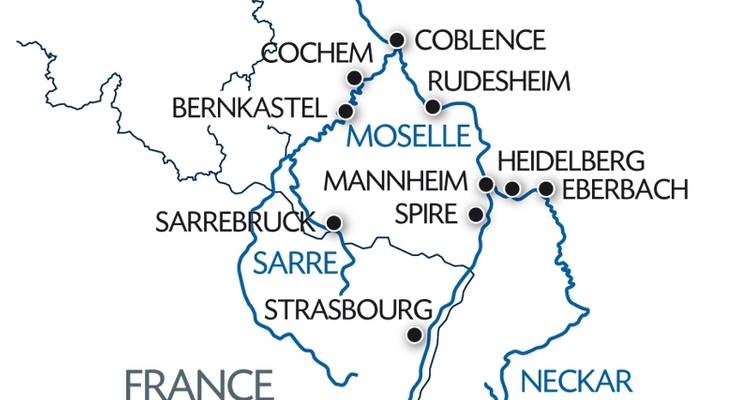 The Fascination of Four Rivers (including Strasbourg) - CroisiEurope River Cruises