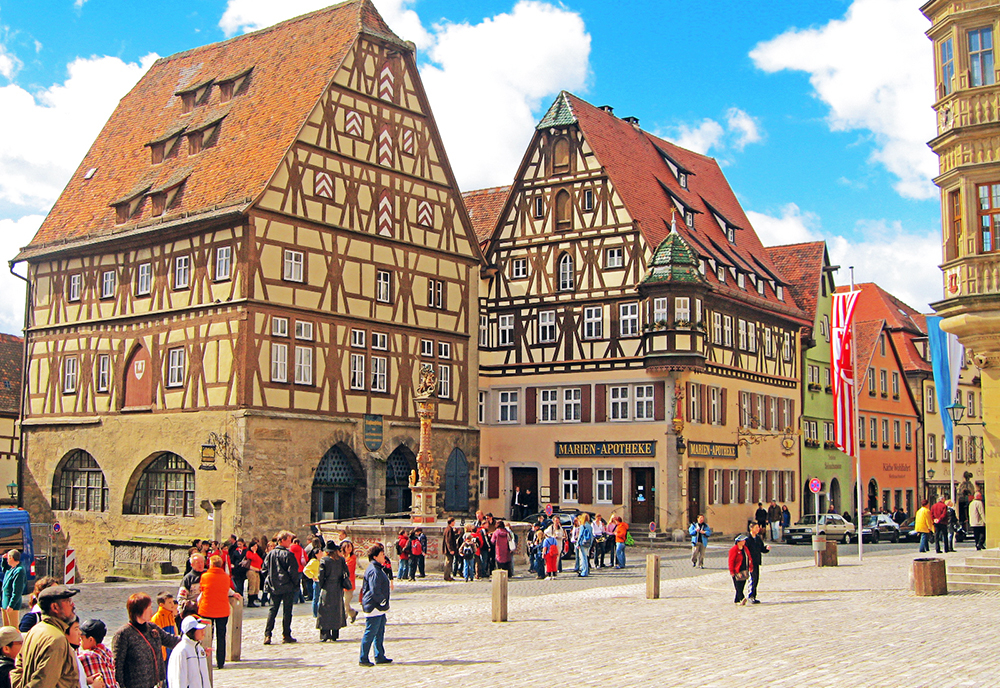 Germany S Cultural Cities The Romantic Road Featuring Berlin