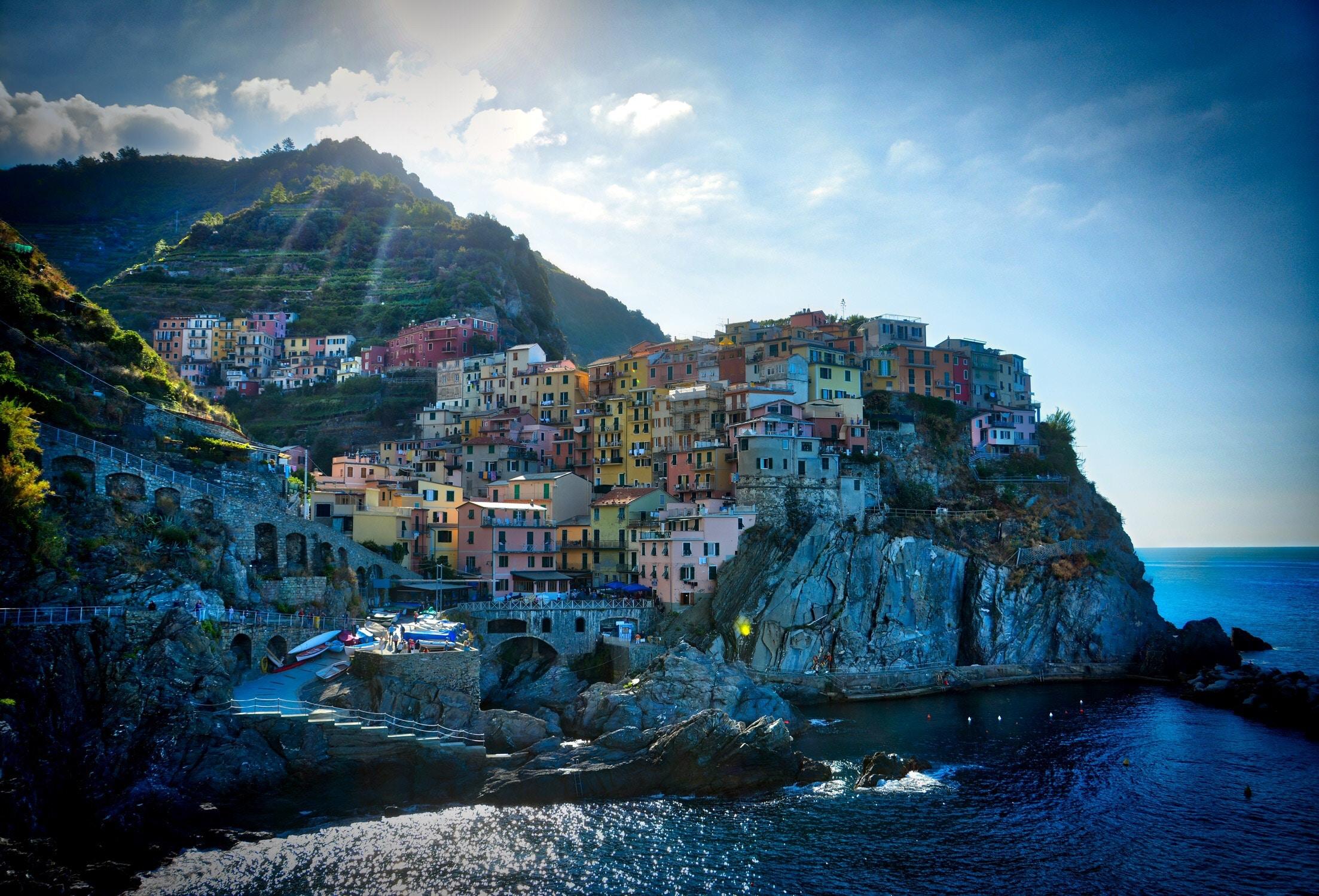 Cinque Terre From La Spezia By Omega Tours Code 300