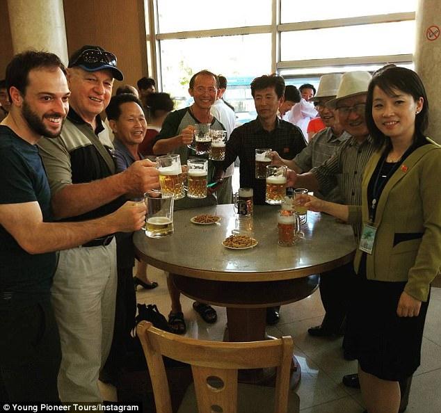 pub crawl adventure in north korea by smiling grape adventure tours