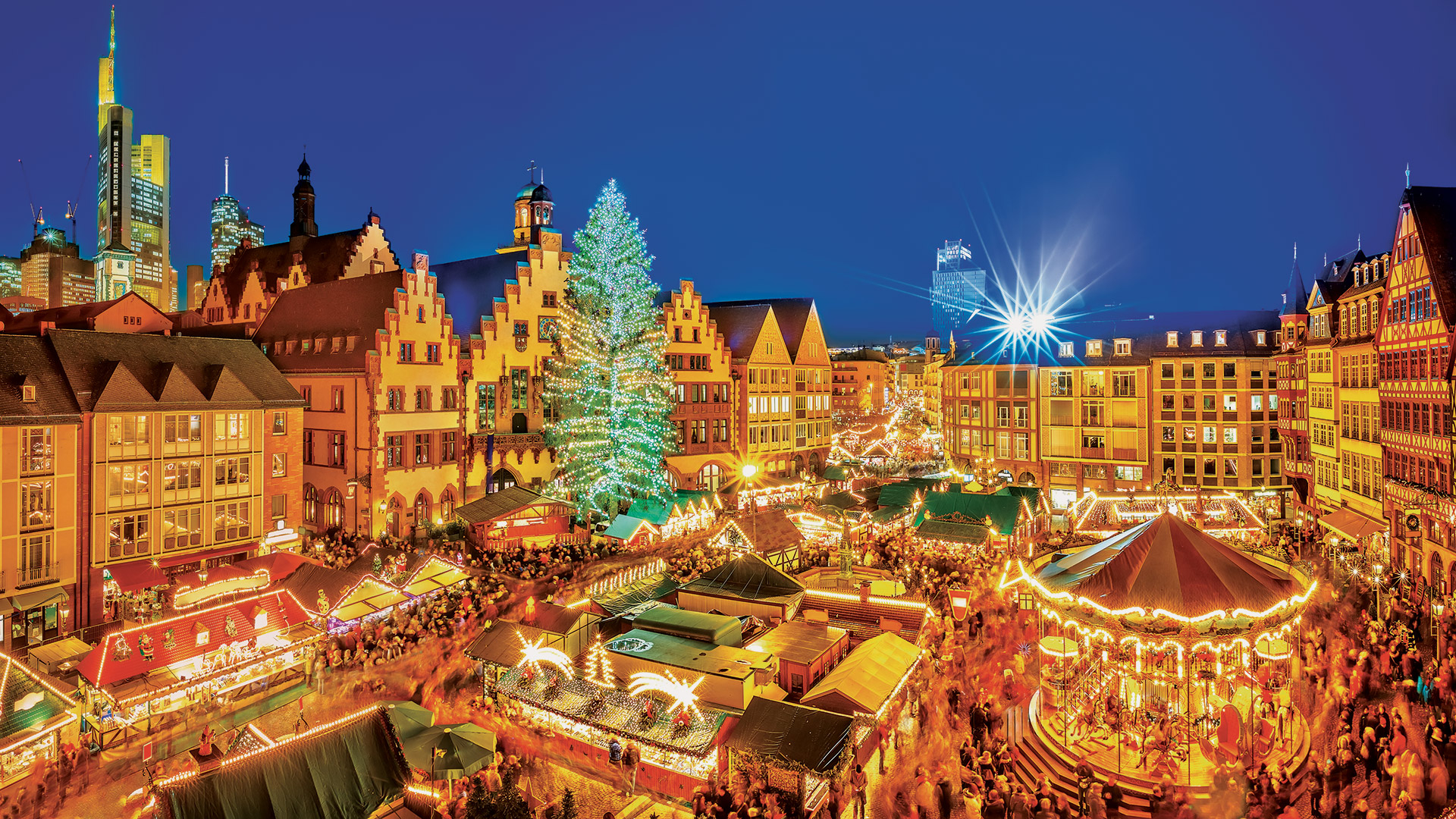 Nuremberg Christmas Market.Classic Christmas Markets Nuremberg To Frankfurt 2019 From Nuremberg To Frankfurt Am Main