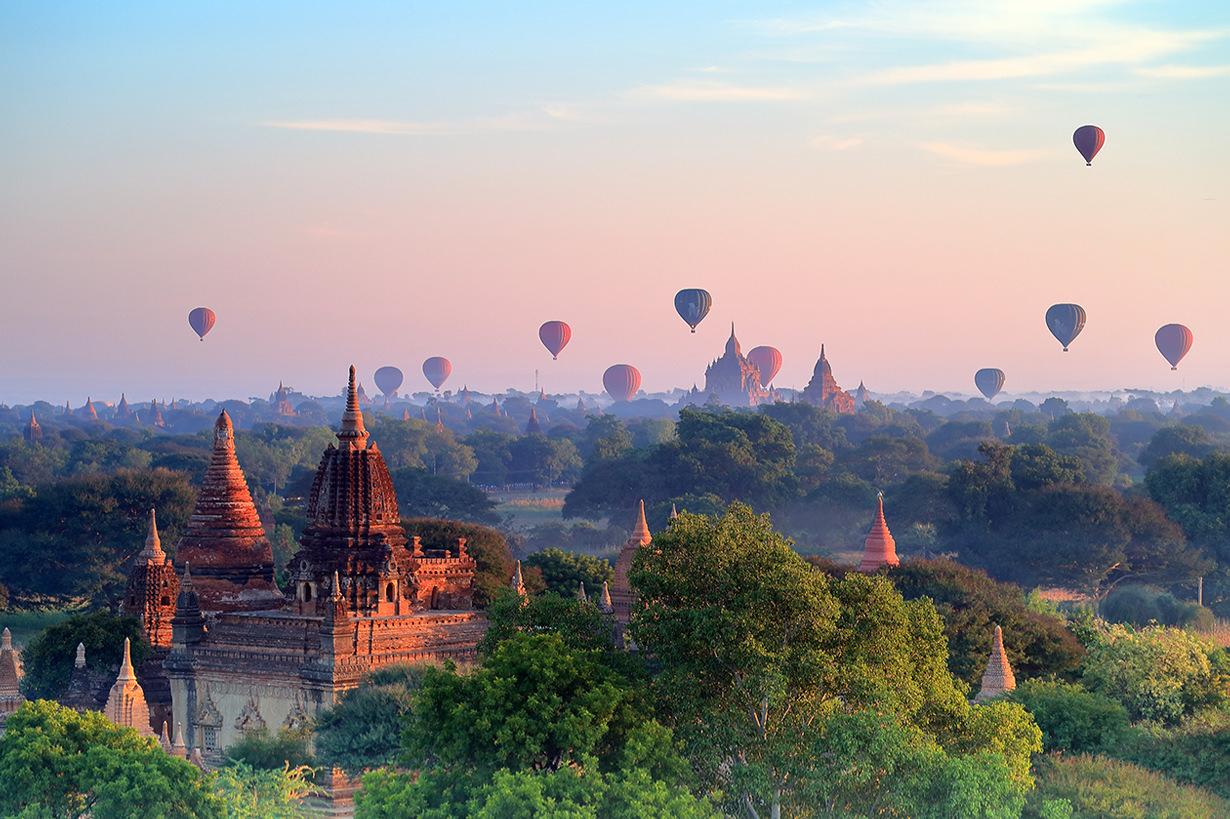 ประเทศที่ไม่ต้องใช้วีซ่า พม่า พุกาม 2019