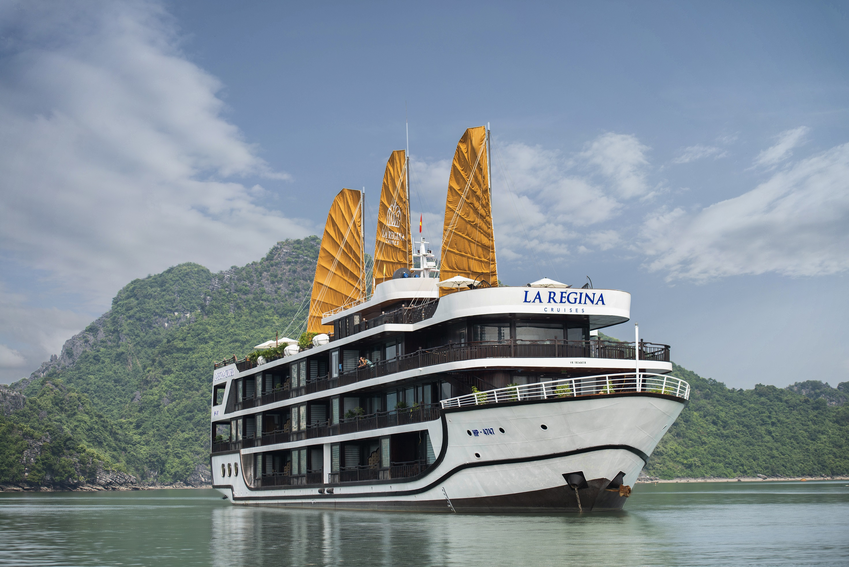 2 Day 1 Night La Regina Legend Cruise 5 Star Visit Halong Bay And