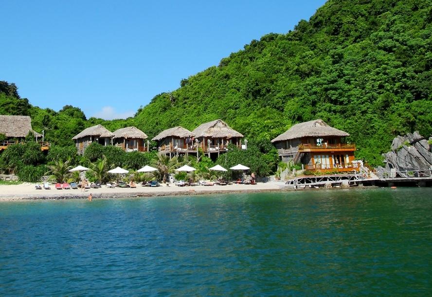2 Nights Ha Long Bay Cruising Bungalow In Sandy Beach Resort