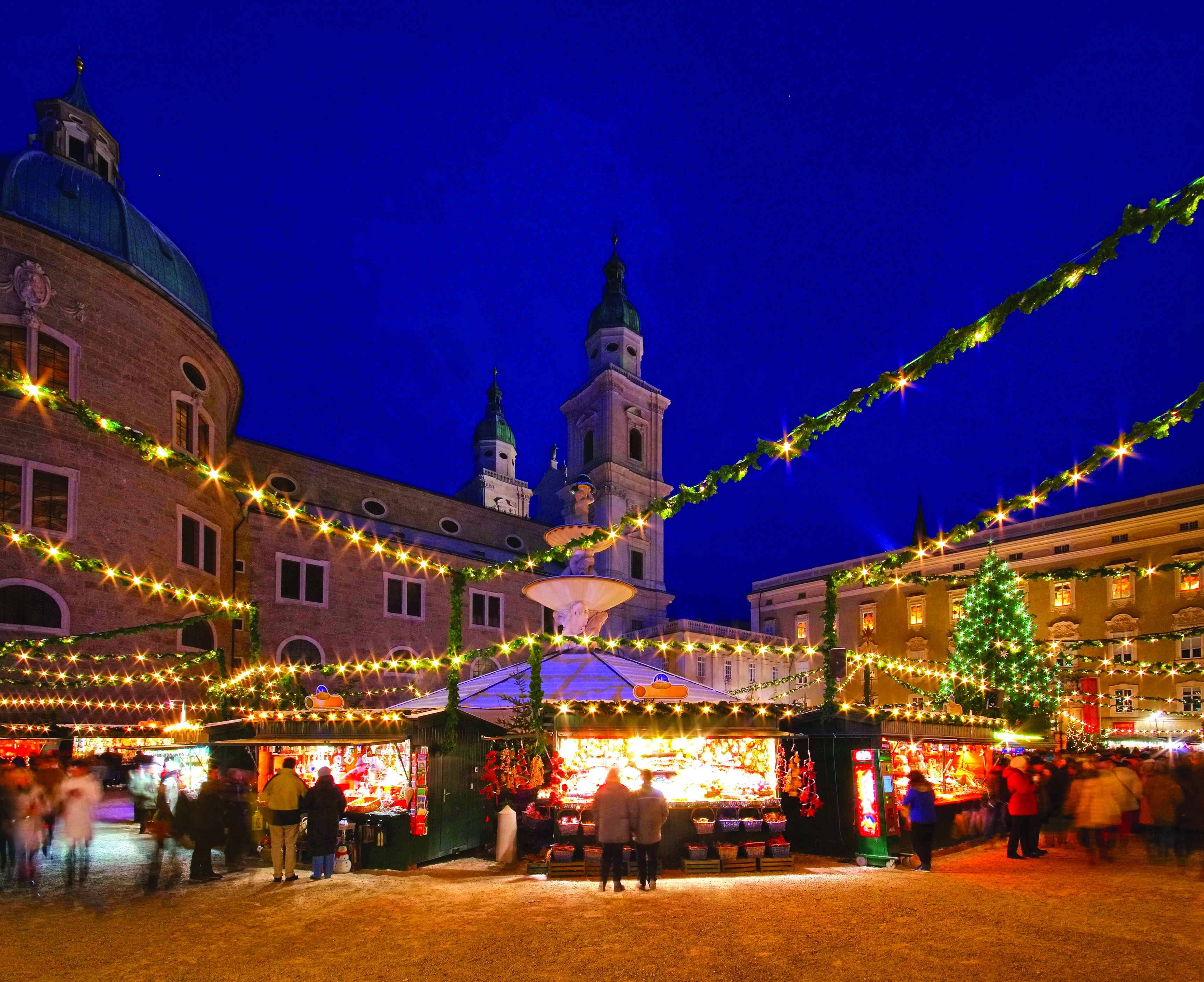 Christmas In Austria.Magical Christmas Markets Of Austria And Germany Innsbruck