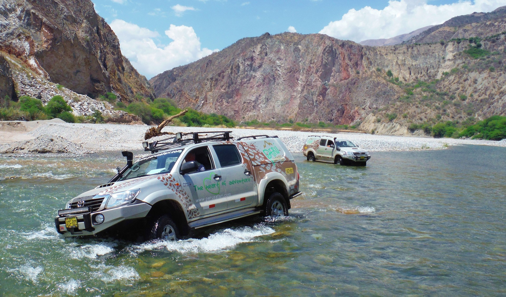 4x4 Self Drive Guided Inca Tracks (22 Destinations)